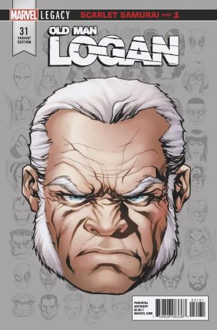 Old Man Logan #31 (McKone Legacy Headshot Cover)
