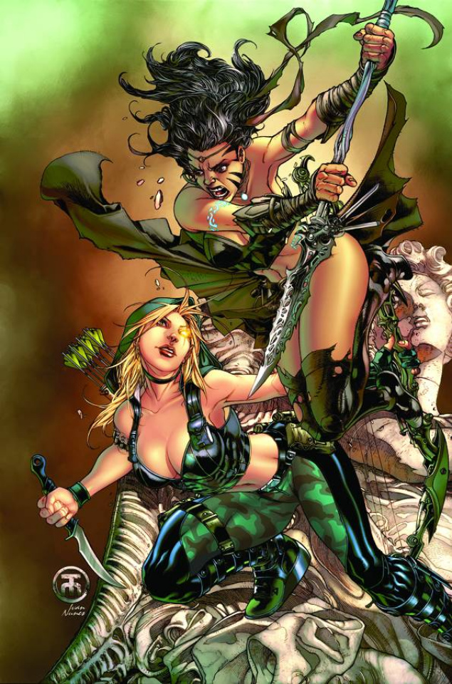 Grimm Fairy Tales: Robyn Hood - Wanted #3 (Toliboa Cover)