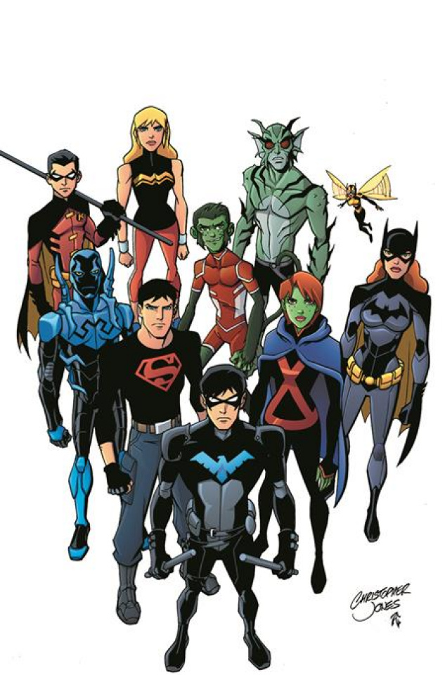 Young Justice Book 2: Growing Up
