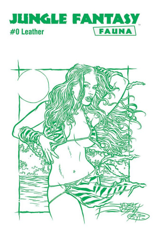 Jungle Fantasy: Fauna #0 (Leather Jungle Green Cover)