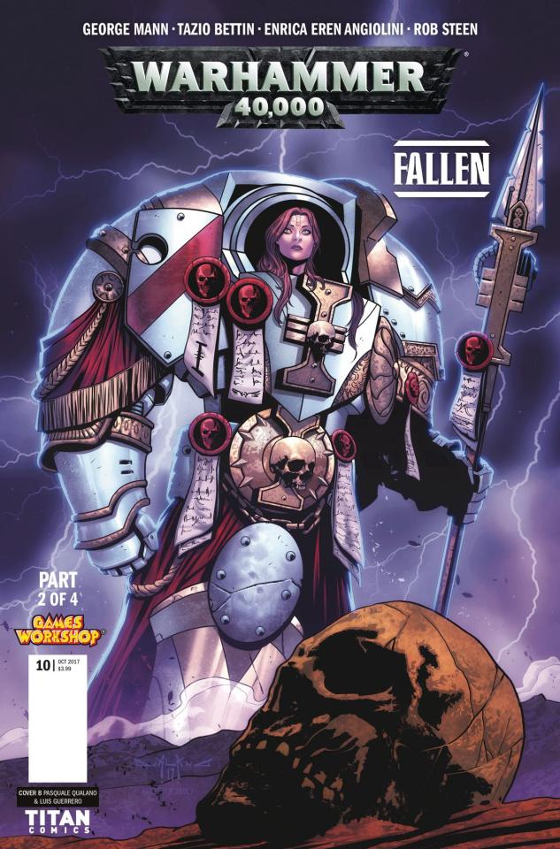 Warhammer 40,000: Fallen #2 (Qualano Cover)