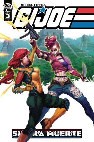 G.I. Joe: Sierra Muerte #3 (10 Copy Swaid Cover)