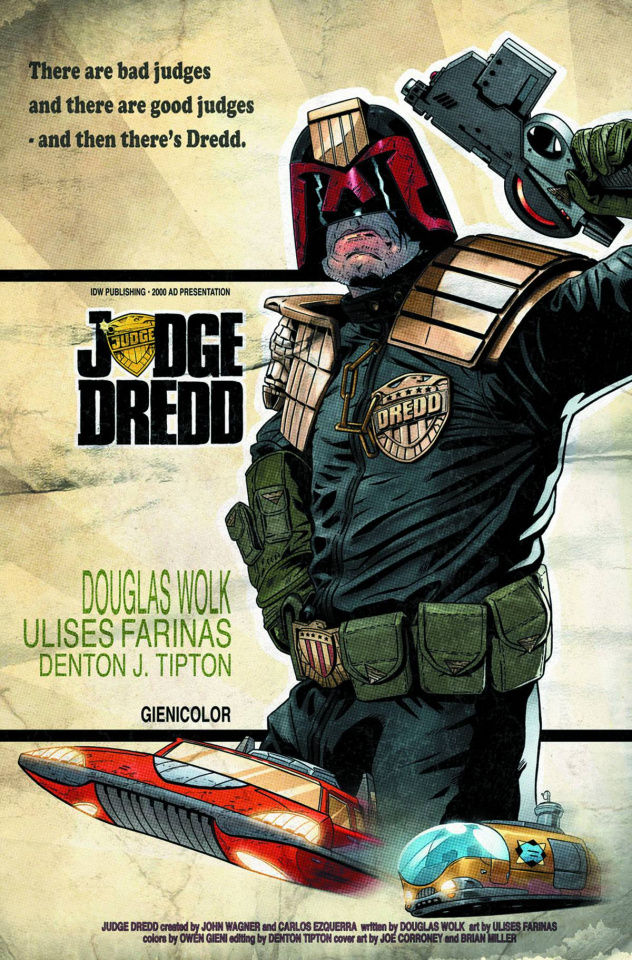 Judge Dredd: Mega-City Two #1 (Subscription Cover)