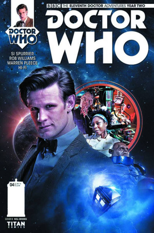 Doctor Who: New Adventures with the Eleventh Doctor, Year Two #4 (Brooks Subscription Photo Cover)