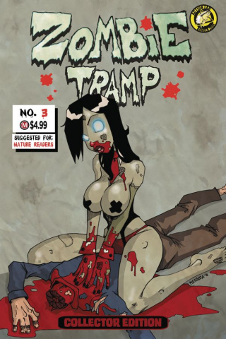 Zombie Tramp: Origins #3 (Gory Cover)