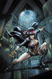 Grimm Fairy Tales: Van Helsing vs. The Mummy of Amun Ra #4 (Goh Cover)