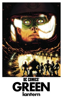 Green Lantern #40 (Movie Poster Cover)