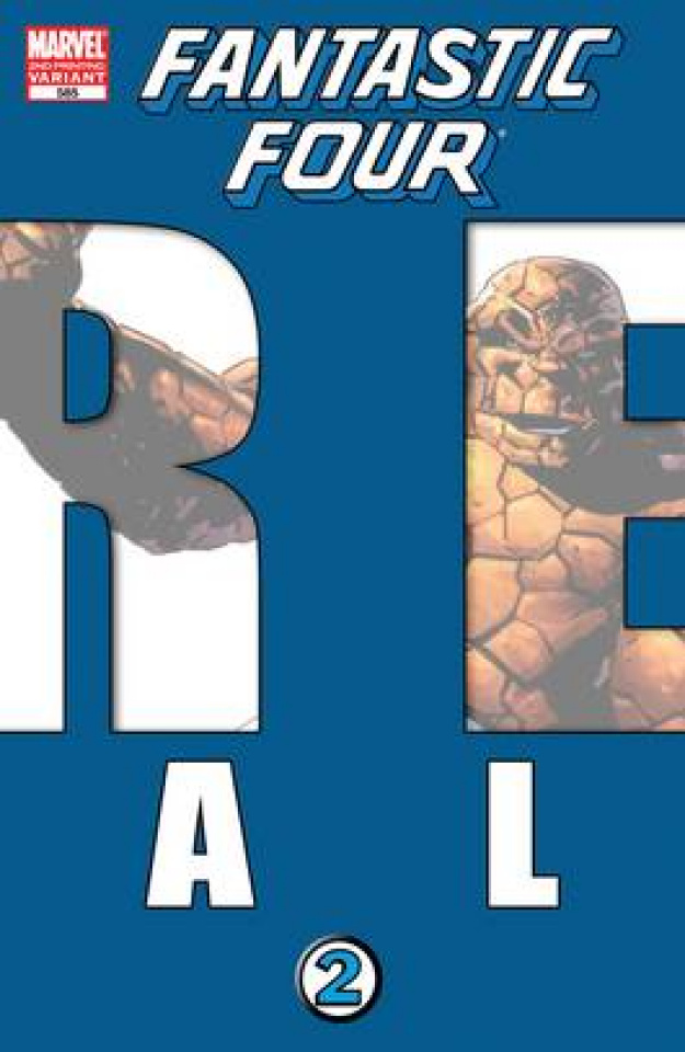Fantastic Four #585 (2nd Printing Epting Cover)