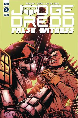 Judge Dredd: False Witness #2 (Zama Cover)