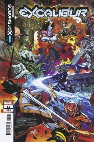 Excalibur #15 (Larraz Connecting Cover)