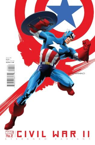 Civil War II #2 (Streranko Cover)