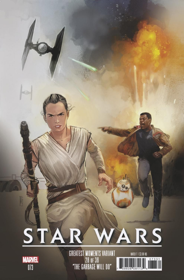Star Wars #73 (Reis Greatest Moments Cover)
