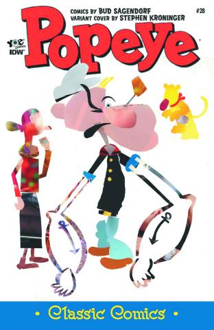 Popeye Classics #28 (10 Copy Cover)