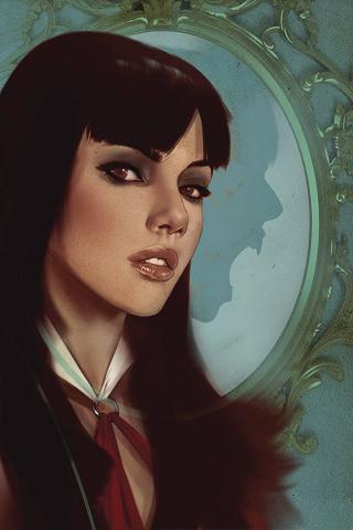 Vengeance of Vampirella #9 (Oliver Virgin Cover)