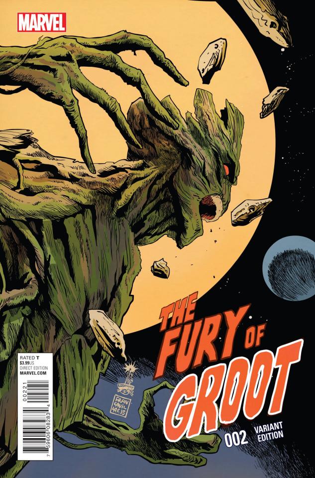 Groot #2 (Francavilla Cover)