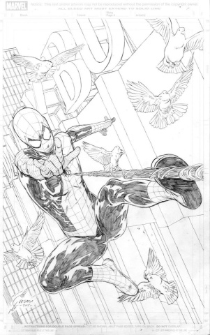 The Amazing Spider-Man #24 (Quesada Sketch Cover)