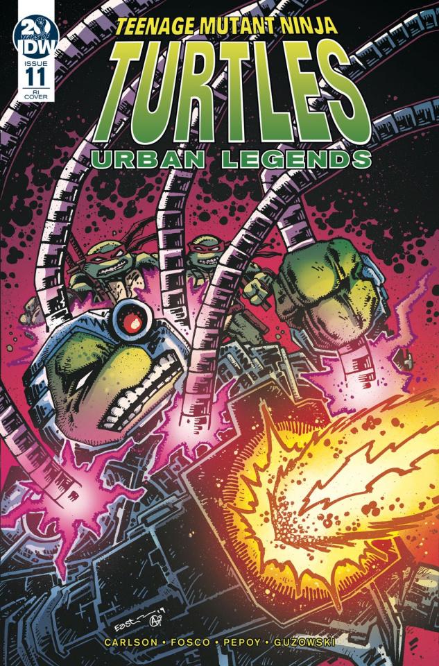 Teenage Mutant Ninja Turtles: Urban Legends #11 (10 Copy Eastman Cover)