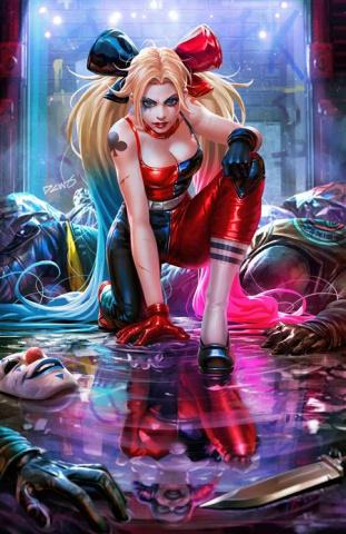 Harley Quinn #2 (Derrick Chew Card Stock Cover)