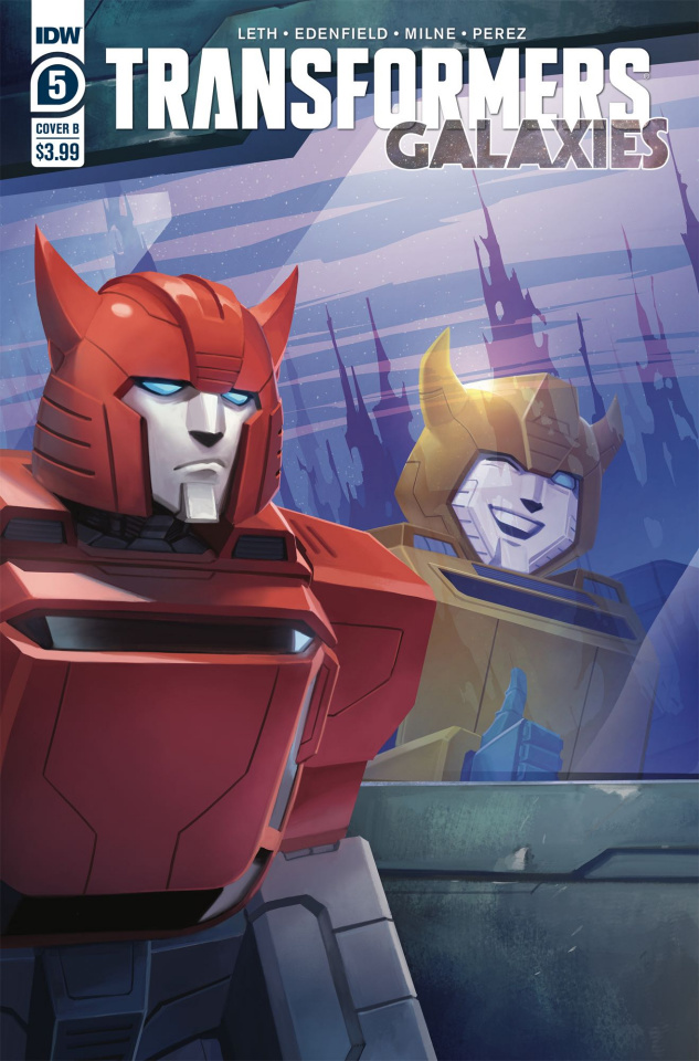 The Transformers: Galaxies #5 (Pitre-Durocher Cover)