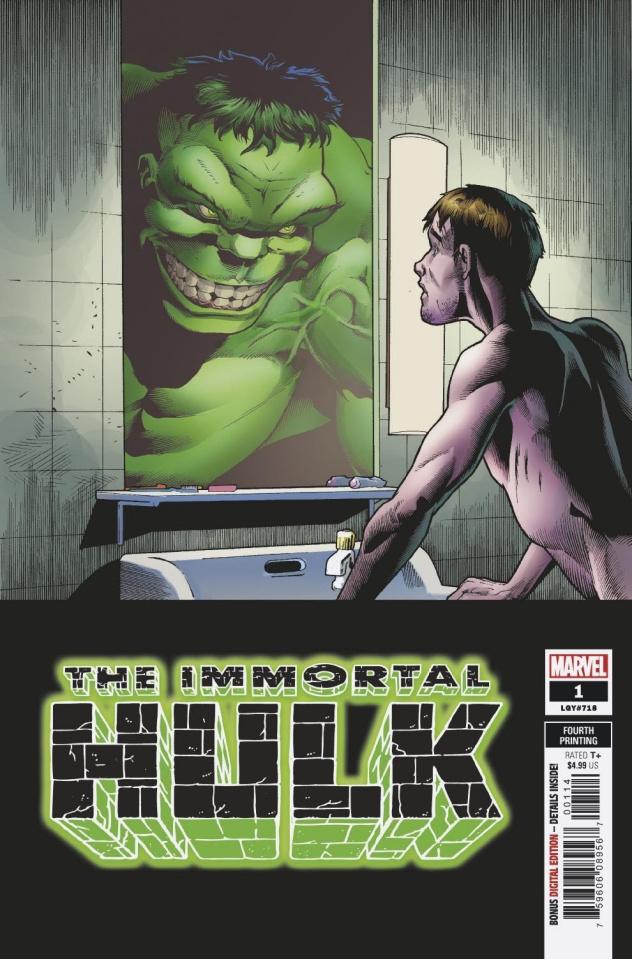 The Immortal Hulk #1 (Bennett 4th Printing)