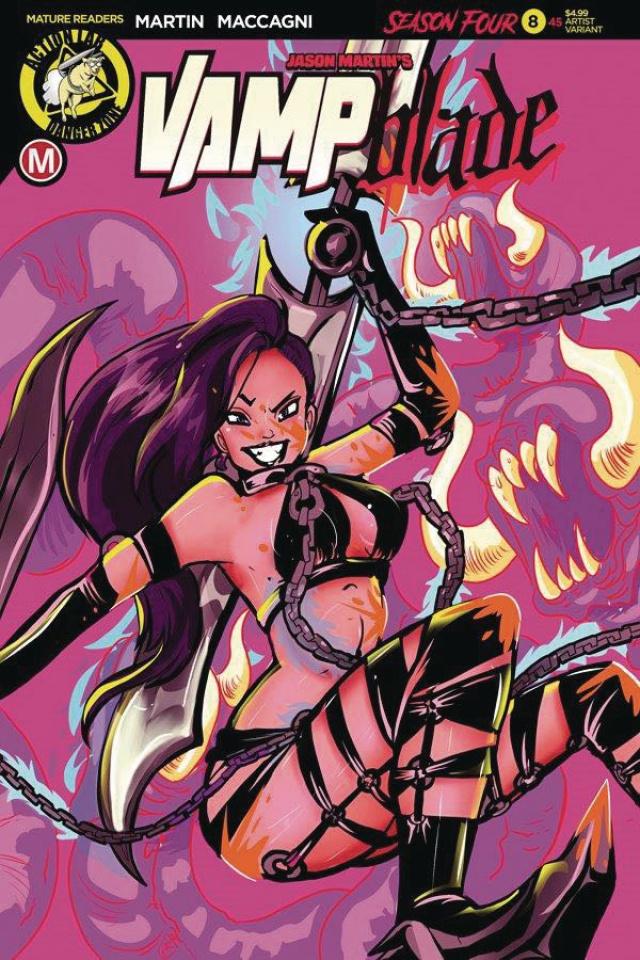 Vampblade, Season Four #8 (Langell Cover)