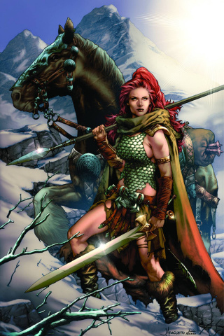 Red Sonja #1 (Rare Anacleto Virgin Connect Cover)
