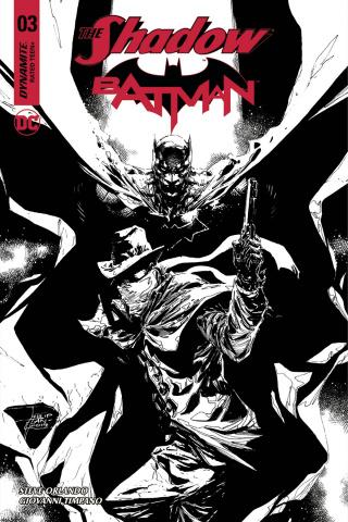 The Shadow / Batman #3 (10 Copy Tan Cover)