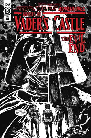 Star Wars Adventures: Ghosts of Vader's Castle #5 (10 Copy Cover)