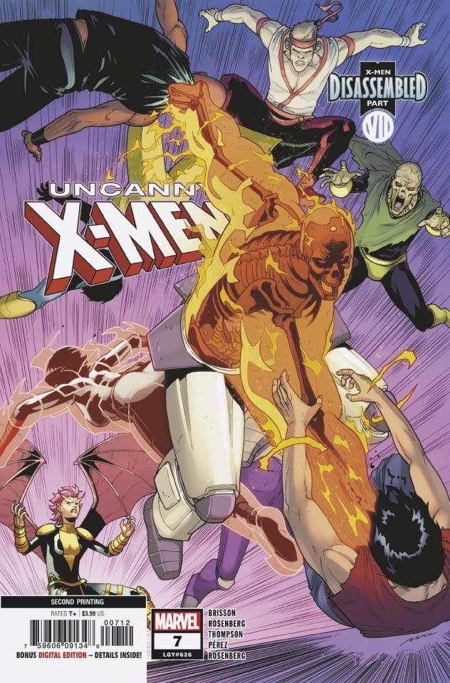Uncanny X-Men #7 (Perez 2nd Printing)