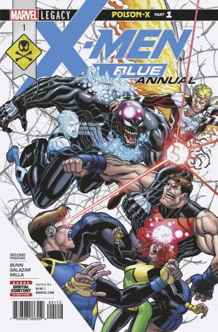 X-Men: Blue Annual #1 (2nd Printing)