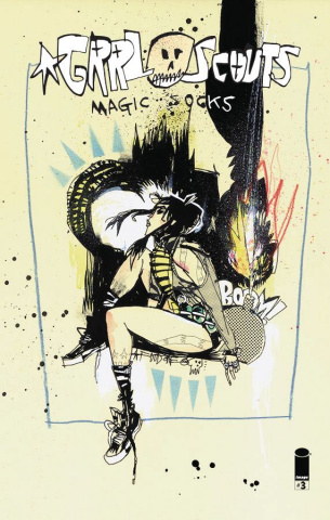Grrl Scouts: Magic Socks #3 (Mahfood Cover)