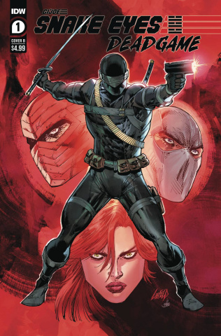 Snake Eyes: Deadgame #1 (Liefeld Cover)
