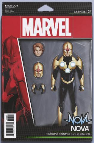 Nova #1 (Christopher Action Figure Cover)