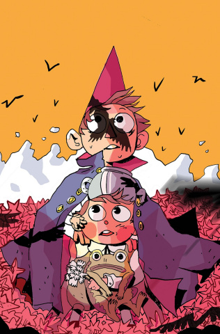 Over the Garden Wall #19 (Subscription Daguna Cover)