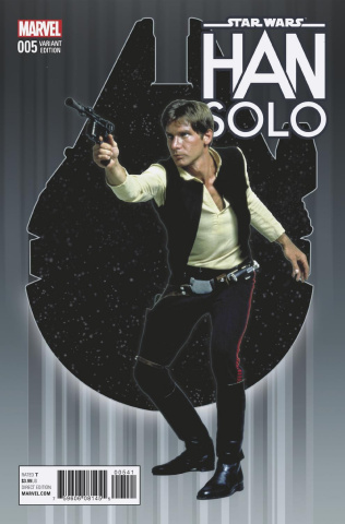 Star Wars: Han Solo #5 (Movie Cover)
