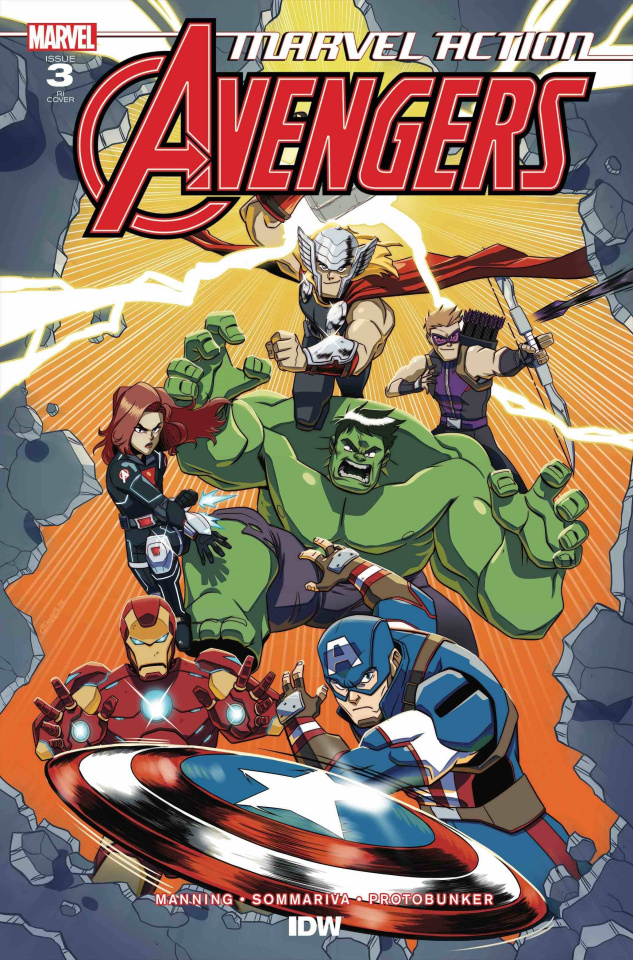 Marvel Action: Avengers #3 (10 Copy Coleman Cover)