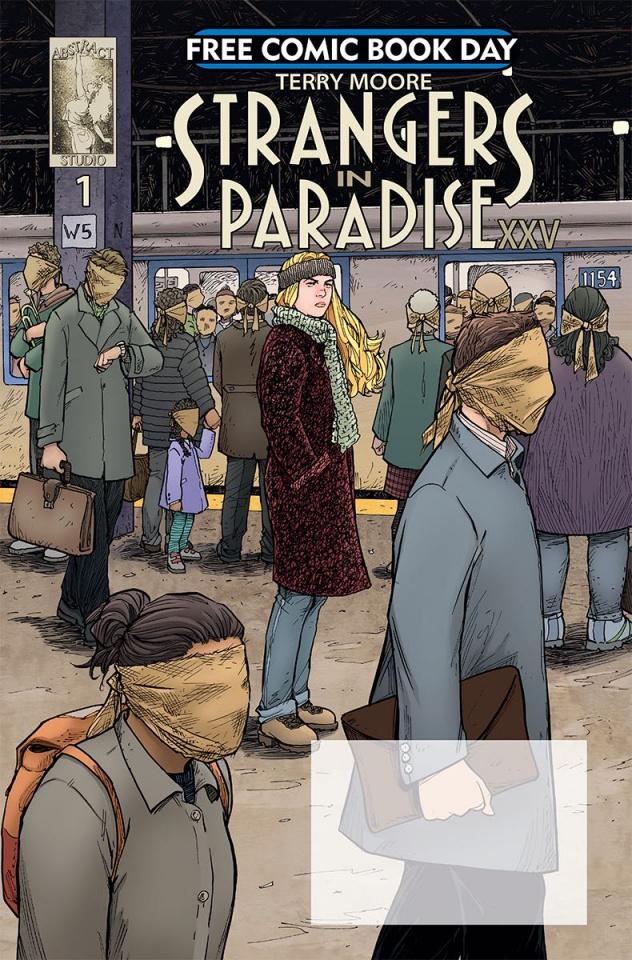 Strangers in Paradise XXV #1 (FCBD 2018 Special)