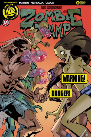 Zombie Tramp #31 (Celor Risque Cover)