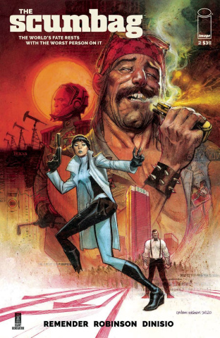 The Scumbag #2 (Robinson Cover)