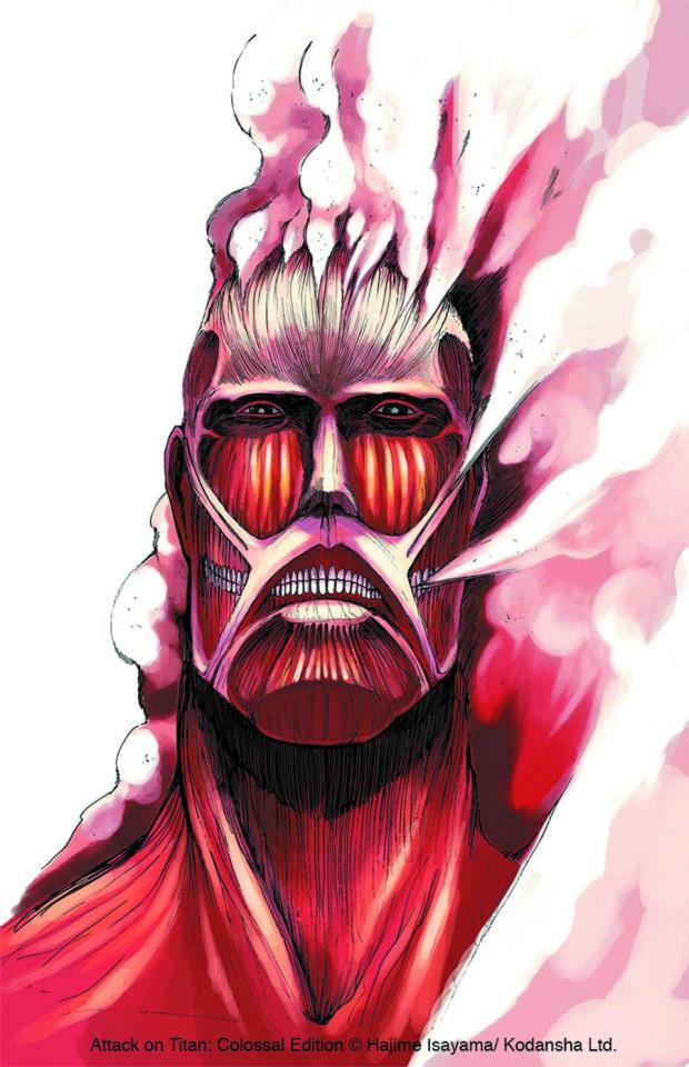 Attack on Titan Vol. 1 (Colossal Edition)