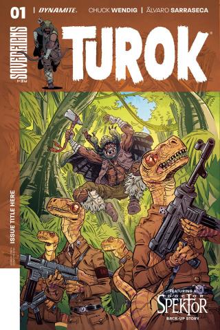 Turok #1 (Conley Cover)