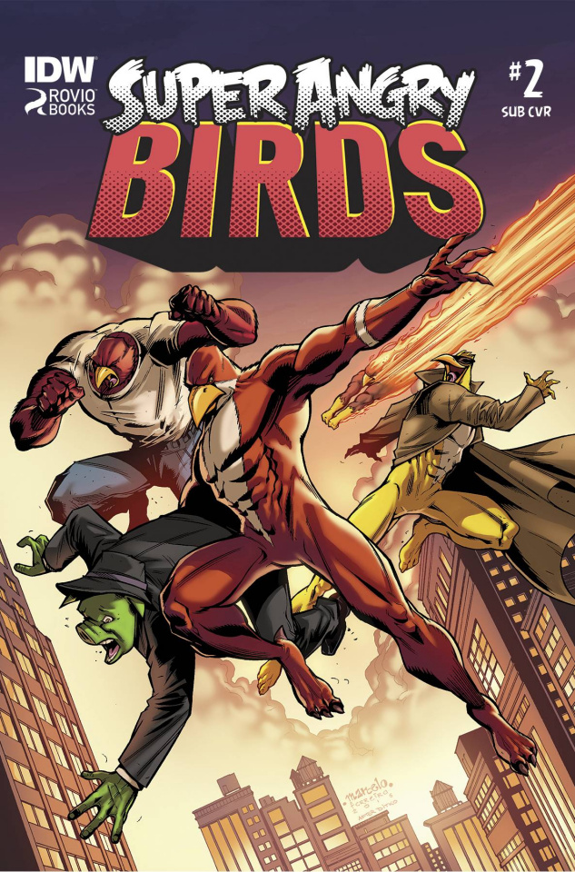 Angry Birds: Super Angry Birds #2 (Subscription Cover)