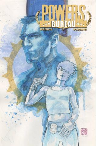 Powers: Bureau #1 (Mack Cover)