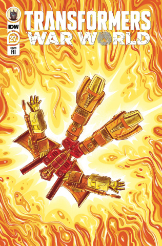 The Transformers #27 (10 Copy Nicole Goux Cover)