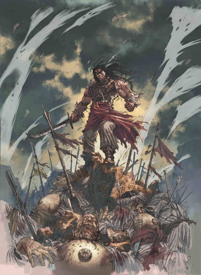 The Cimmerian: People of the Black Circle #2 (Jae Kwang Park Cover)