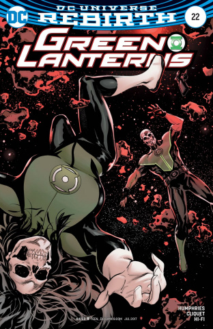 Green Lanterns #22 (Variant Cover)