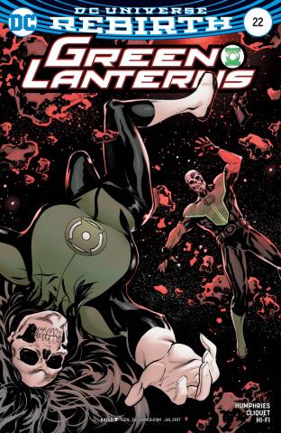Green Lanterns #22 (Variant Cover)