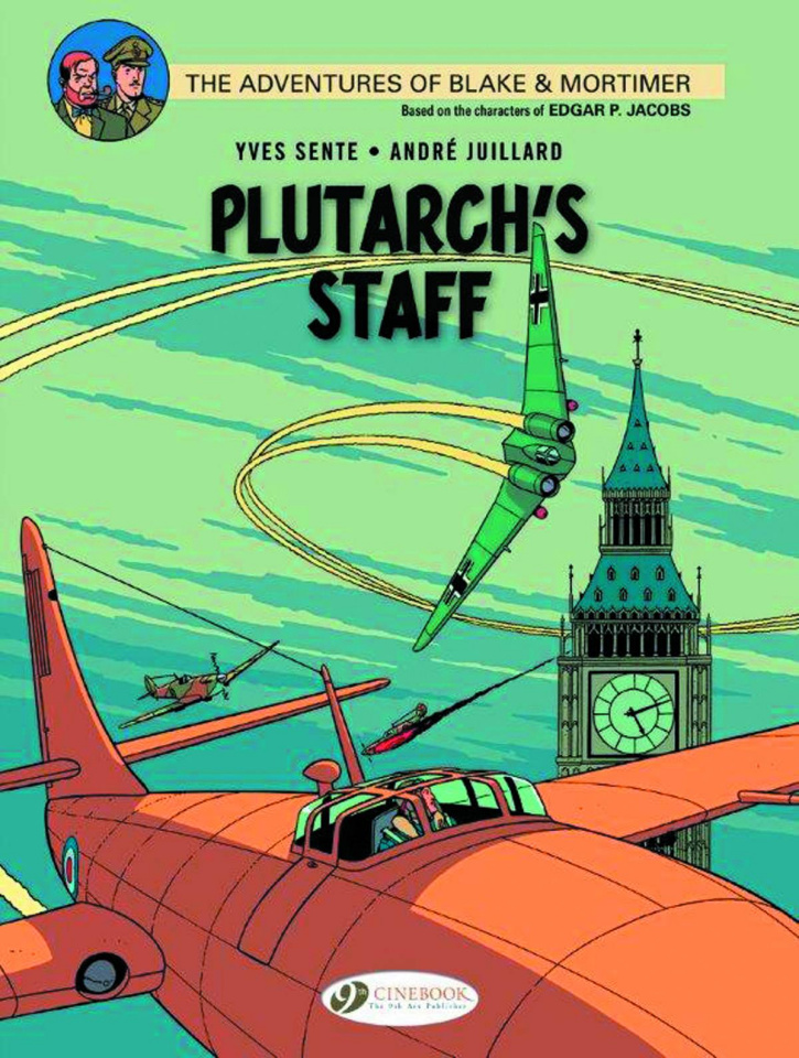 The Adventures of Blake & Mortimer Vol. 21: Plutarch's Staff