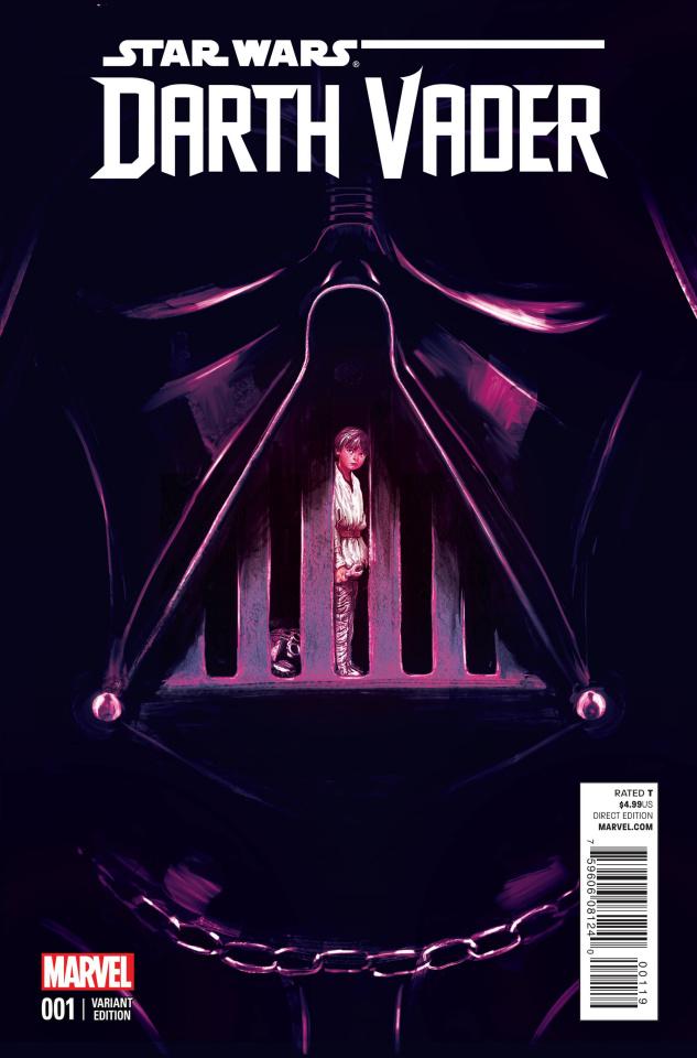 Darth Vader #1 (Del Mundo Cover)