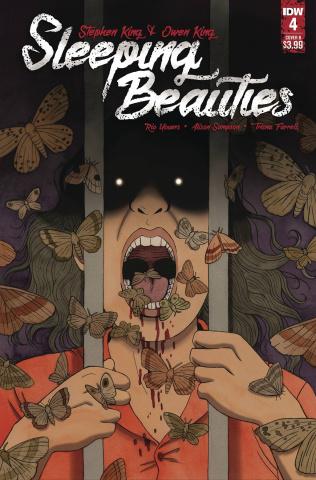 Sleeping Beauties #4 (Woodall Cover)